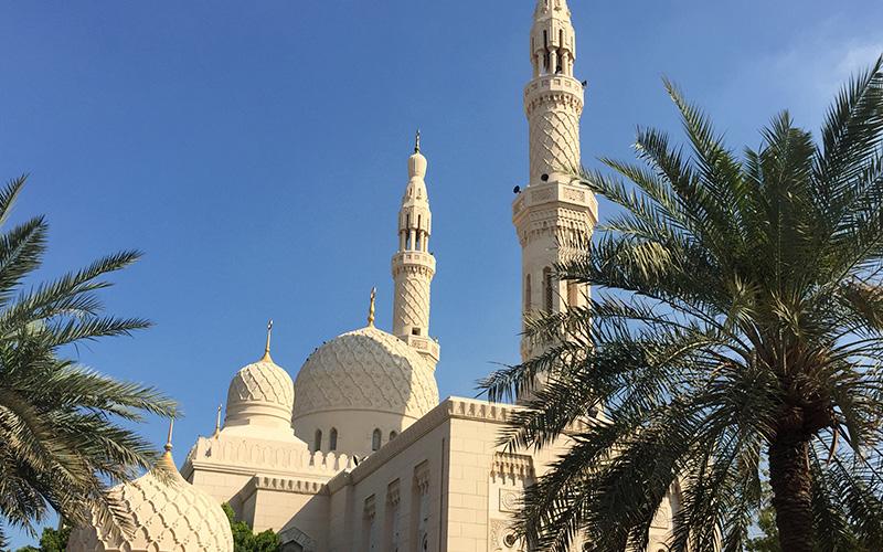 Dubai Jumeirah moske
