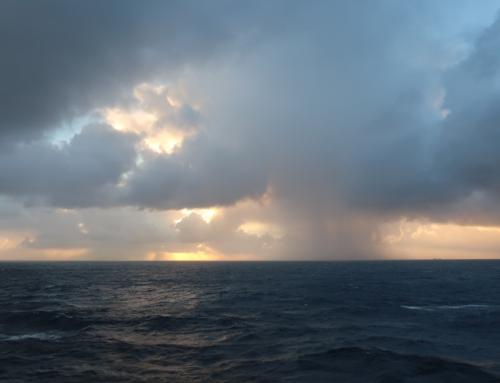 Krydstogt hen over Atlanten
