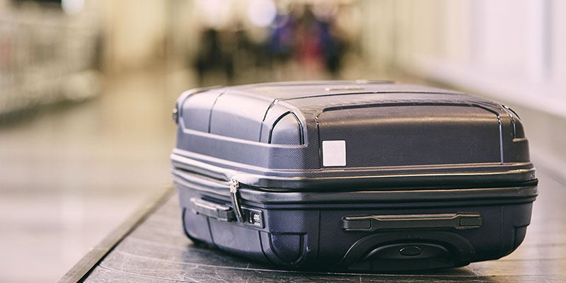Undgå at miste kuffert