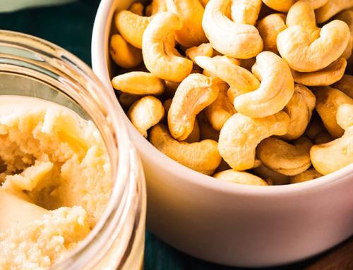 Hjemmelavet cashewsmør
