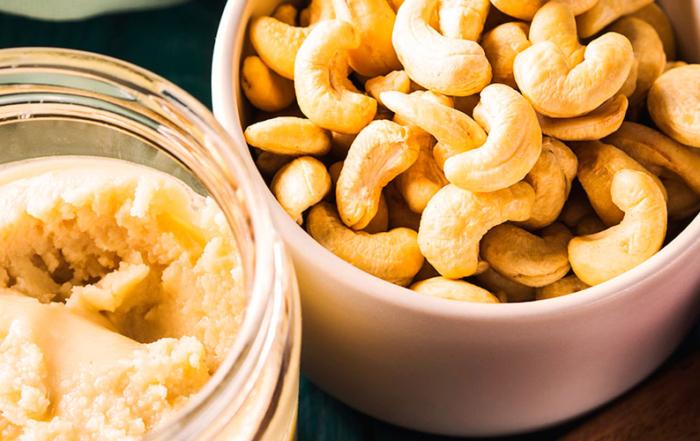 Hjemmelavet cashewsmør Cashew butter